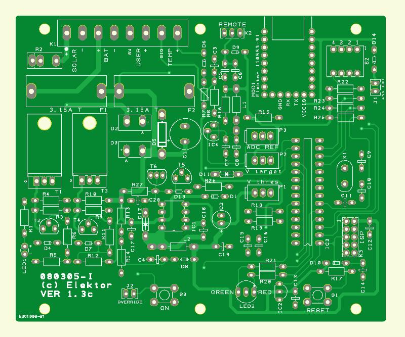 Régulateur photovoltaïque 50 W