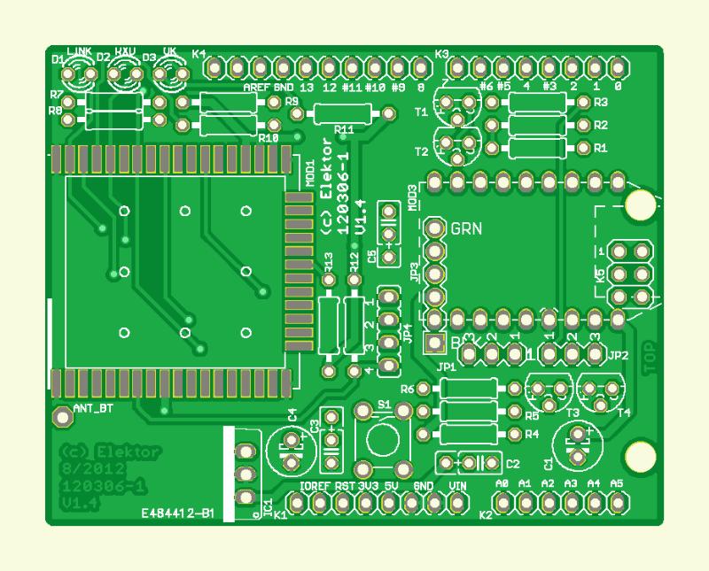 WiFi/Bluetooth/USB pour Platino et Arduino