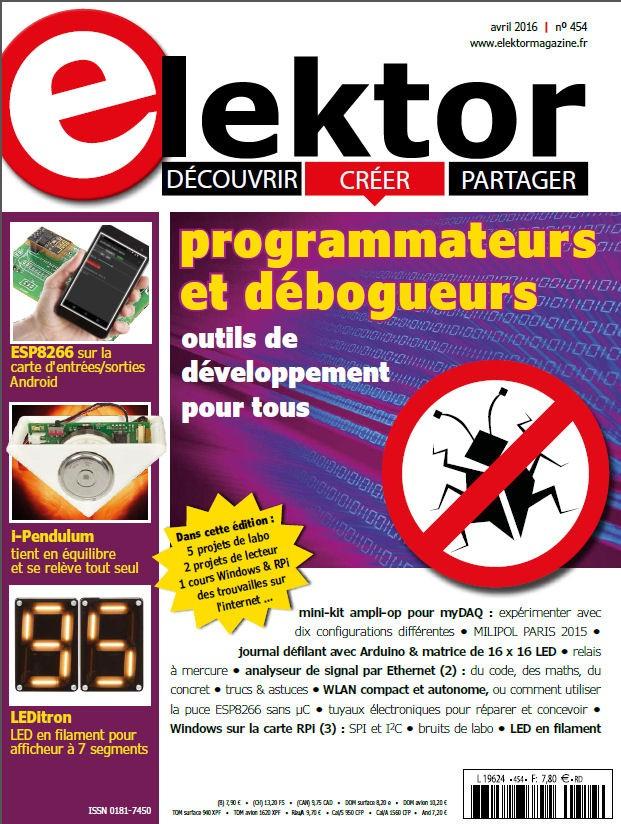 Elektor Magazine FR Avril 2016