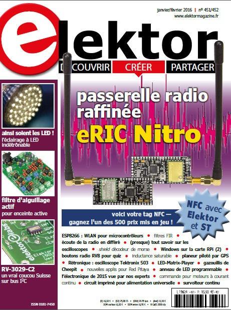 Elektor Magazine FR Janvier/Février 2016