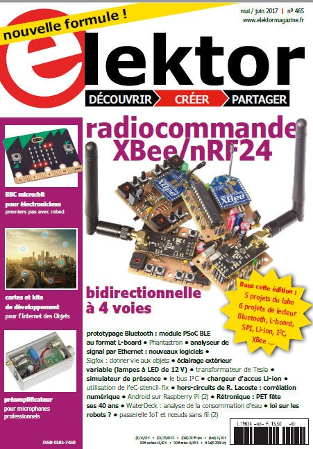 Elektor Magazine FR Mai/Juin 2017 (PDF)