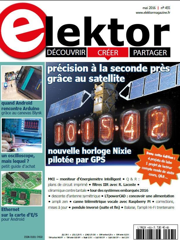 Elektor Magazine FR Mai 2016
