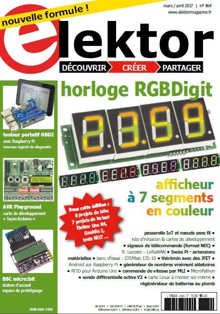 Elektor Magazine FR  Mars/Avril 2017 (PDF)