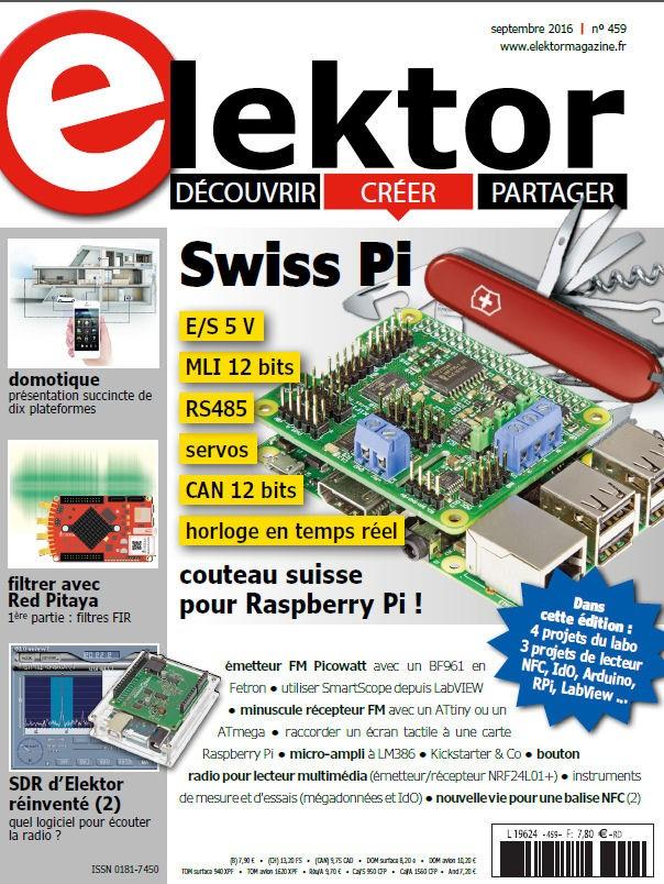 Elektor Magazine FR Septembre 2016 (PDF)