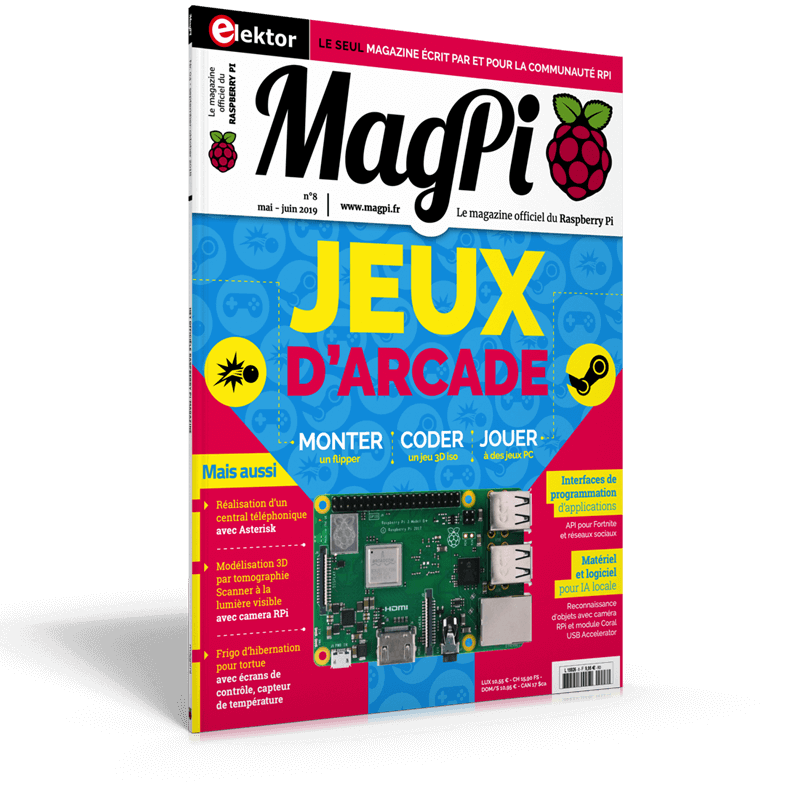 MagPi n°8 (Mai-Juin 2019) FR