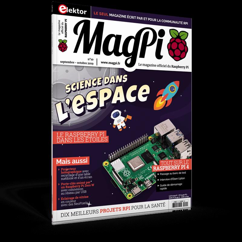 MagPi n°10 (Septembre-Octobre 2019) FR − franco de port