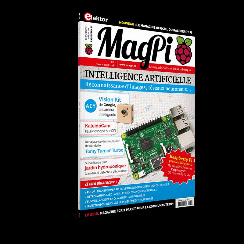 MagPi n°1 (Mars-Avril 2018) FR