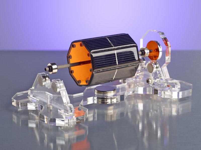 Moteur photovoltaïque Mendocino à lévitation magnétique
