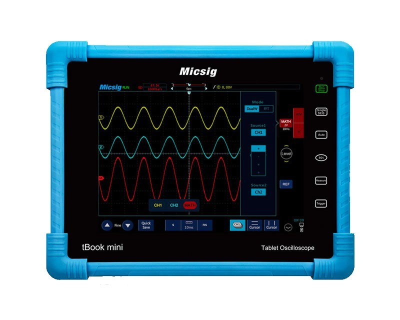 Micsig TO1074 Tablet Oscilloscope tBook mini incl. Battery