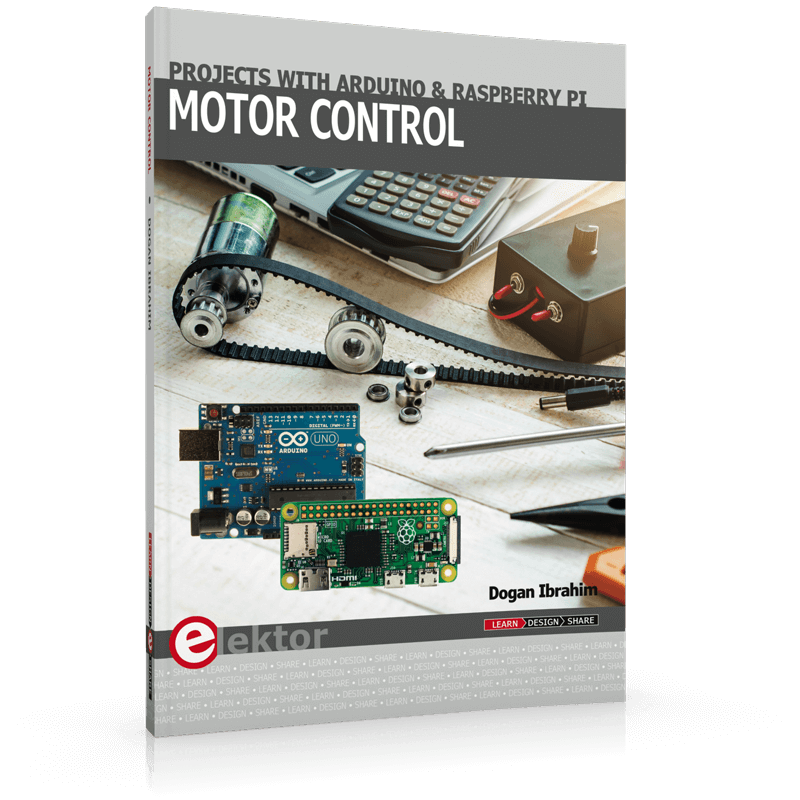 Motor Control – Projects with Arduino & Raspberry Pi