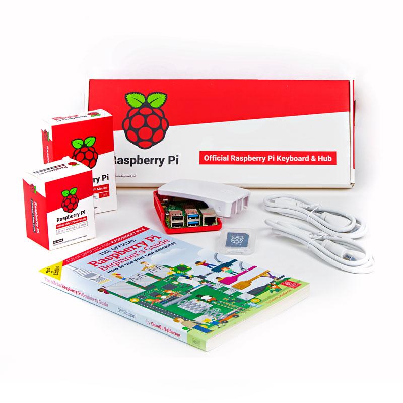 Official EU Raspberry Pi 4 Desktop Kit