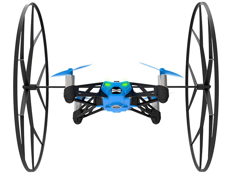 Parrot Minidrone Rolling Spider (Blue)