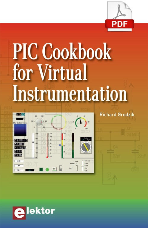PIC Cookbook for Virtual Instrumentation eBook (EN ANGLAIS)