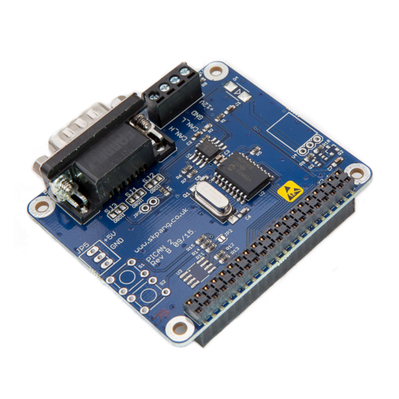 PiCAN 2 – CAN-Bus Board for Raspberry Pi 2/3