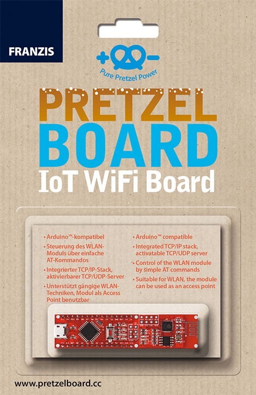 Pretzel Board – carte IoT WiFi
