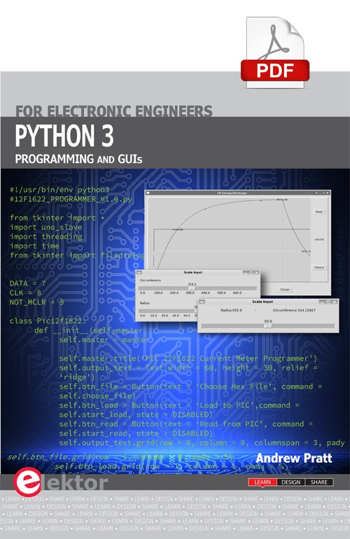 Python 3 Programming and GUIs (E-Book)