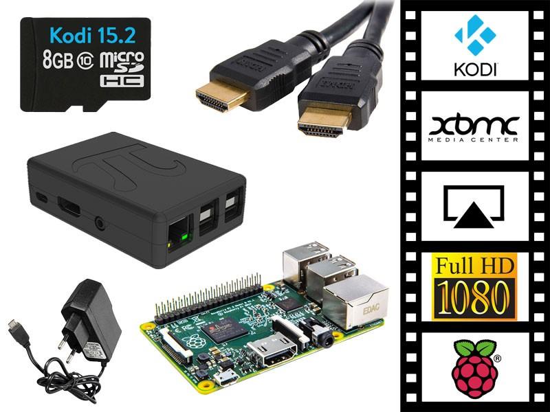 Serveur multimédia Kodi/XBMC sur Raspberry Pi 3