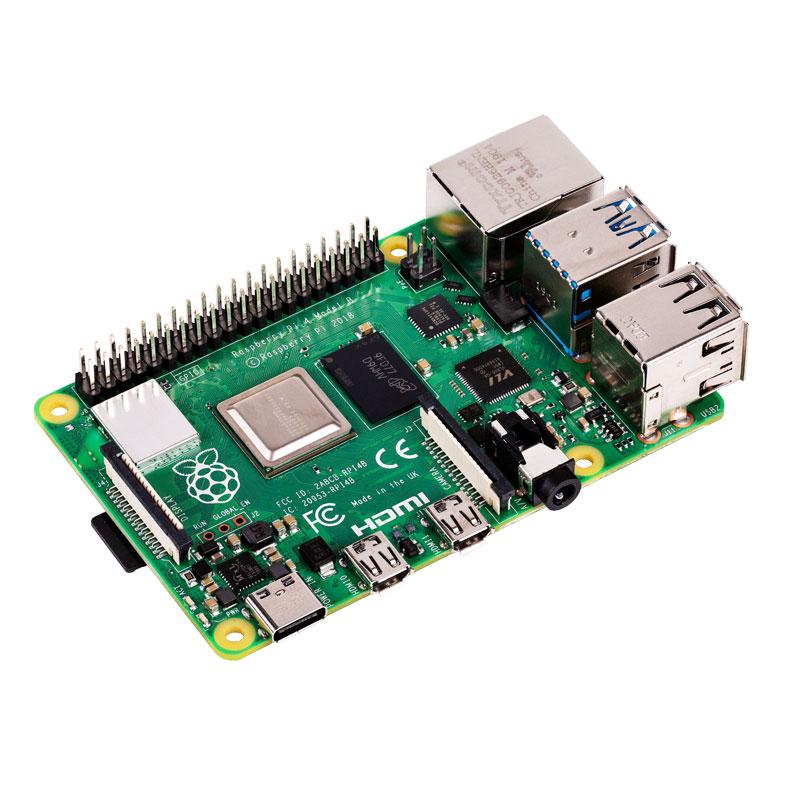 Raspberry Pi 4 B (4 Go de RAM) + e-book RPi GRATUIT