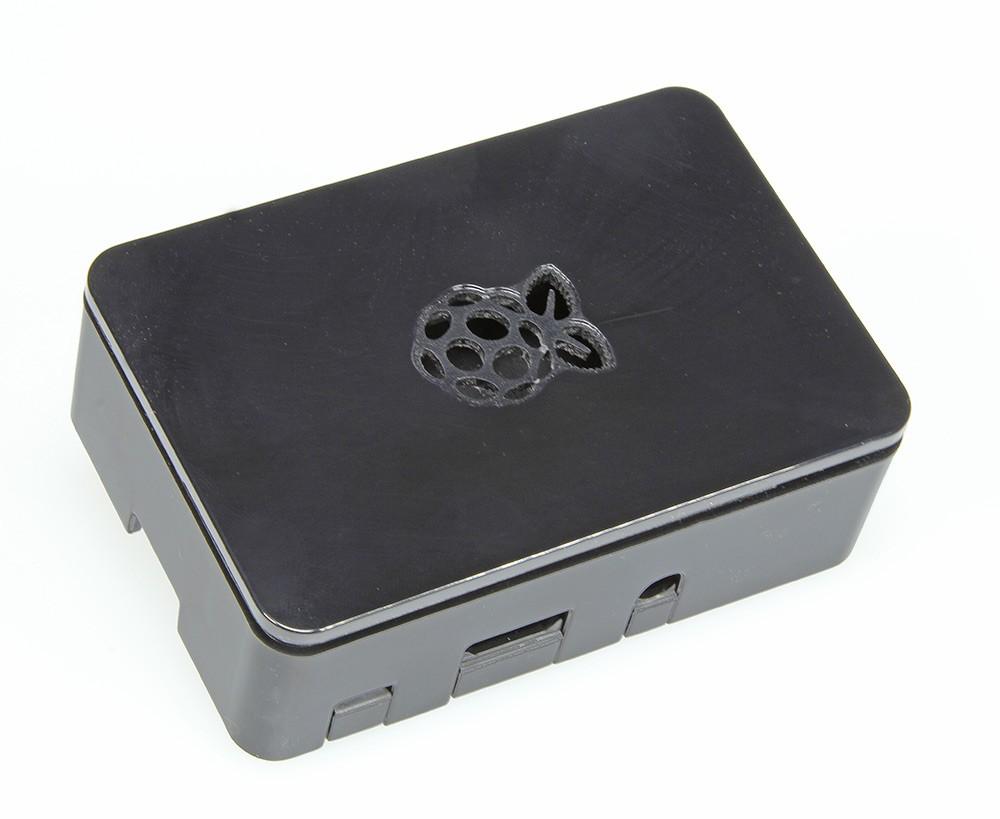 Boîtier (noir) pour Raspberry Pi 3, 2 et B+