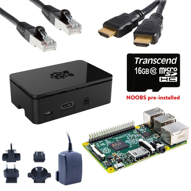 Kit de démarrage (de luxe) Raspberry Pi 3 + Compilation RPi GRATUIT