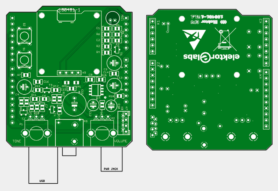 Snore Shield - bare PCB (180481-1)