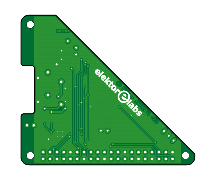 Raspberry Pi Receiver - Bare PCB (160520-1)