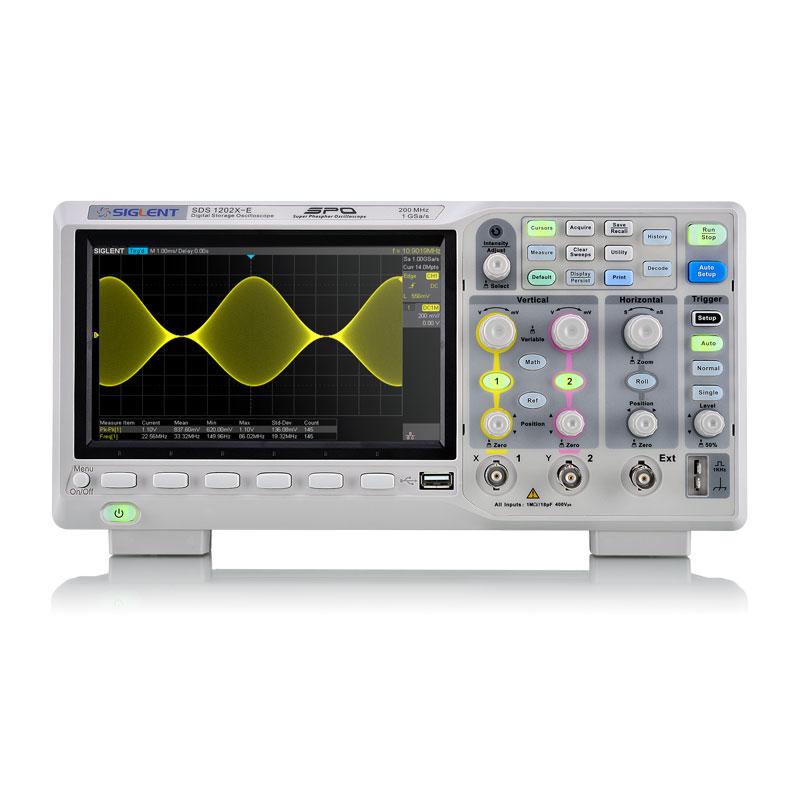 Siglent SDS1202X-E Oscilloscope (200 MHz)
