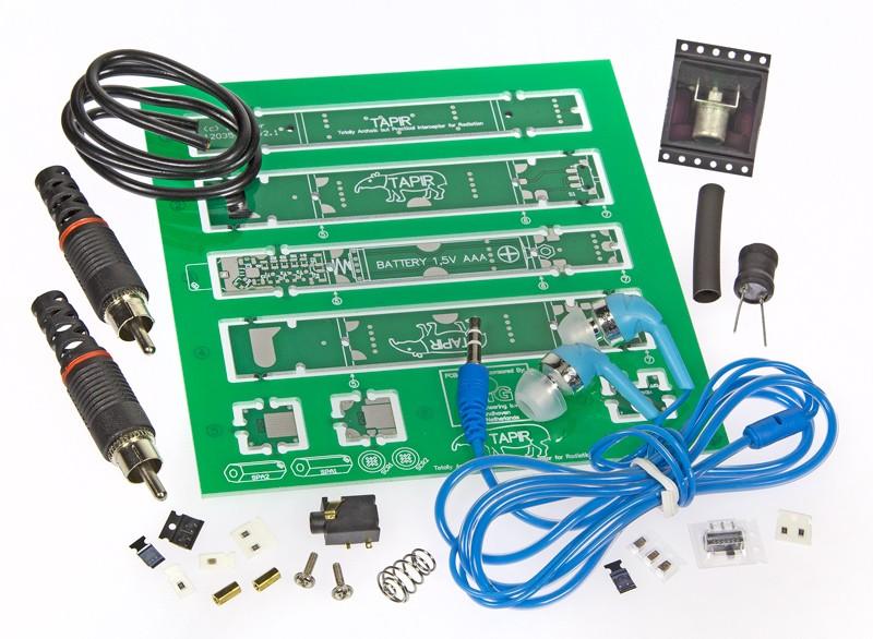 TAPIR – Détecteur ultrasensible d'électrosmog