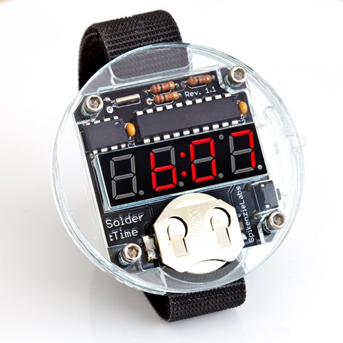Solder:Time Watch Kit