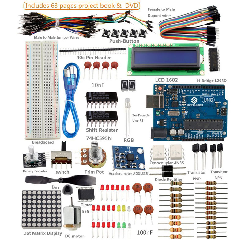 Super Kit for Arduino with UNO R3