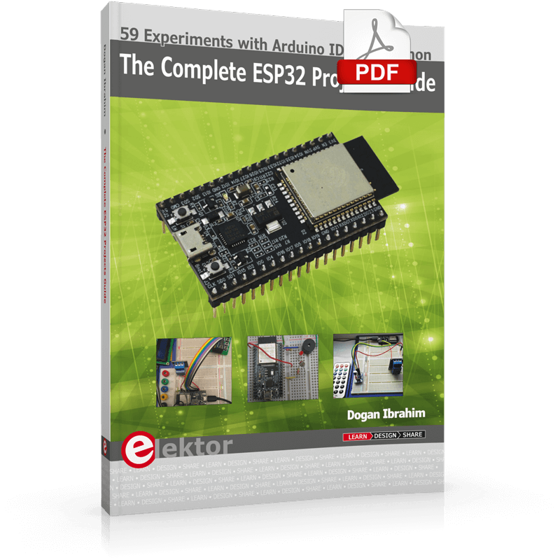 The Complete ESP32 Projects Guide (E-Book)