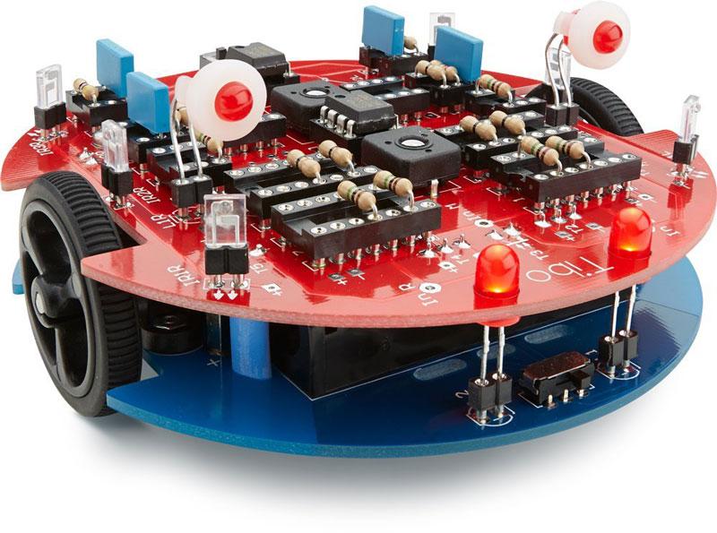 tinobo, robot en kit