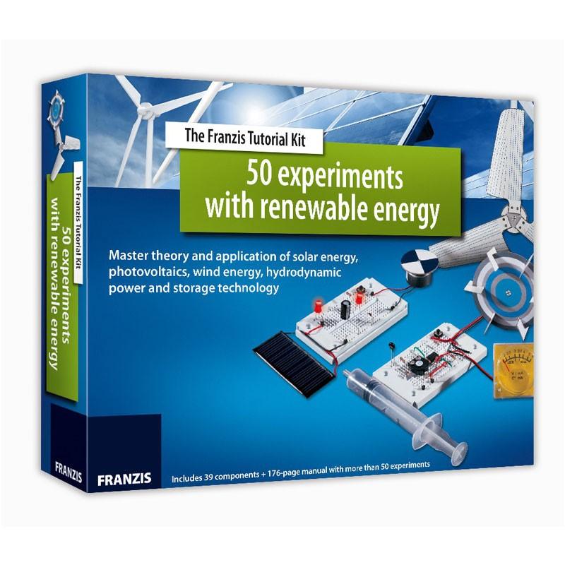 Kit didacticiel : 50 expériences avec les énergies renouvelables