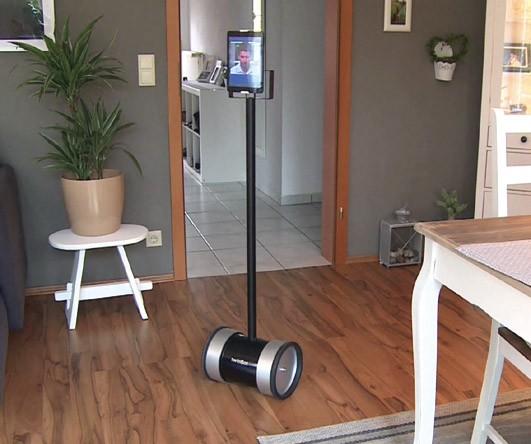 """Robot de téléprésence twinBot assemblé (tablette 8"""" incluse)"""