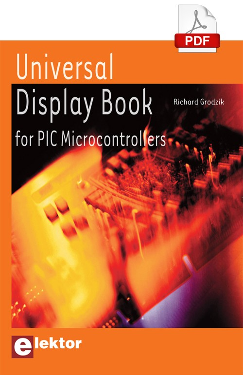 Universal Display Book for PIC Microcontrollers (E-BOOK EN ANGLAIS)