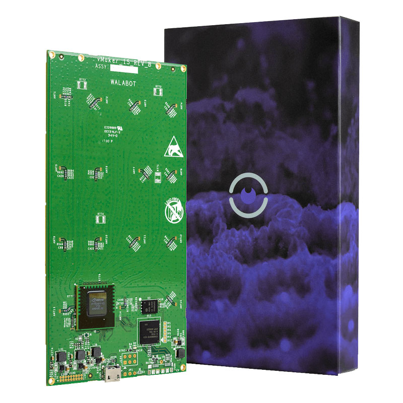 Walabot Creator Pack (Programmable 3D Sensor) + FREE Case